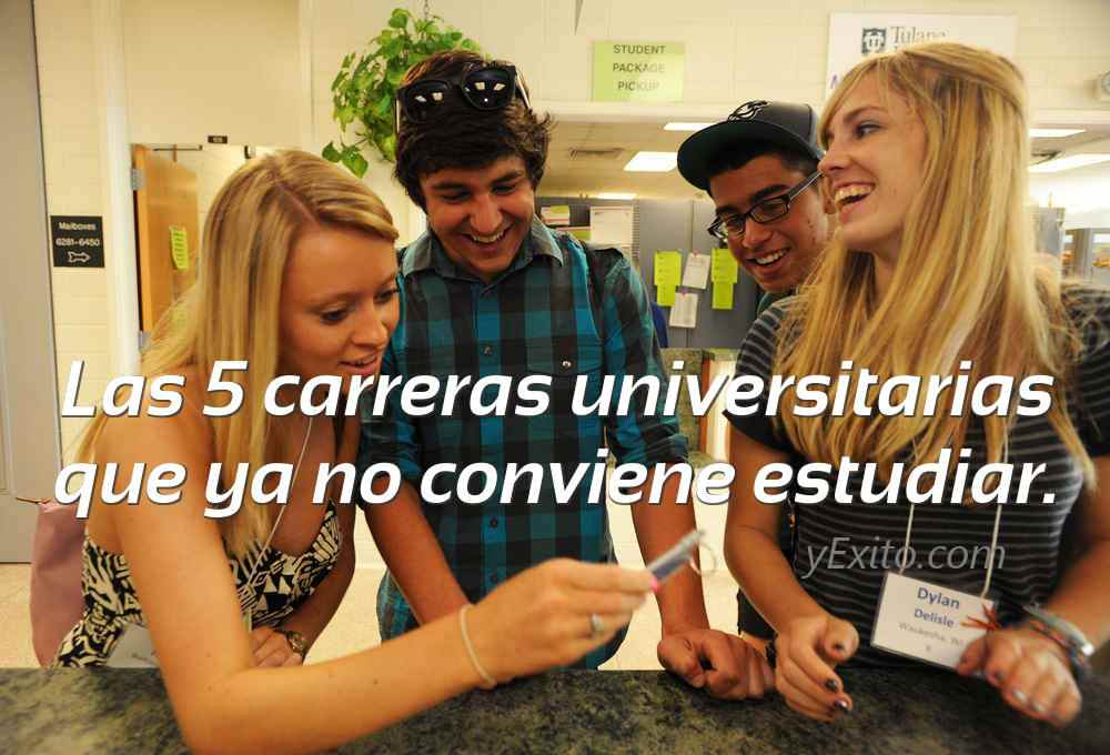 Las 5 carreras universitarias que ya no conviene estudiar for Arquitectura carrera universitaria