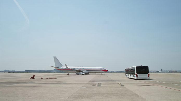 Imagen de empresa de transporte al aeropuerto