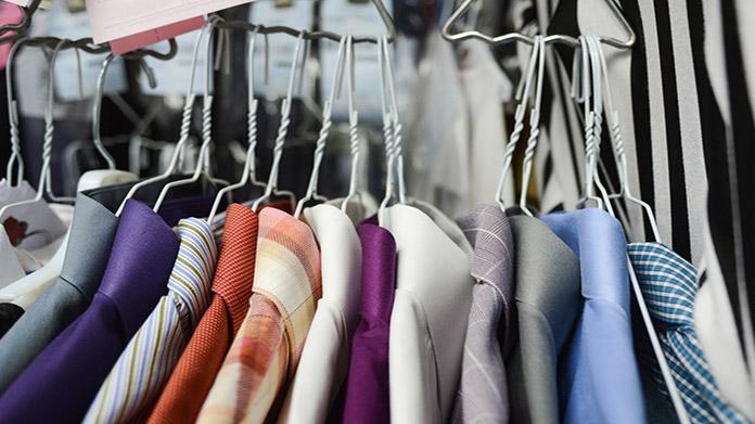 Imagen empresarial de lavandería y tintorería