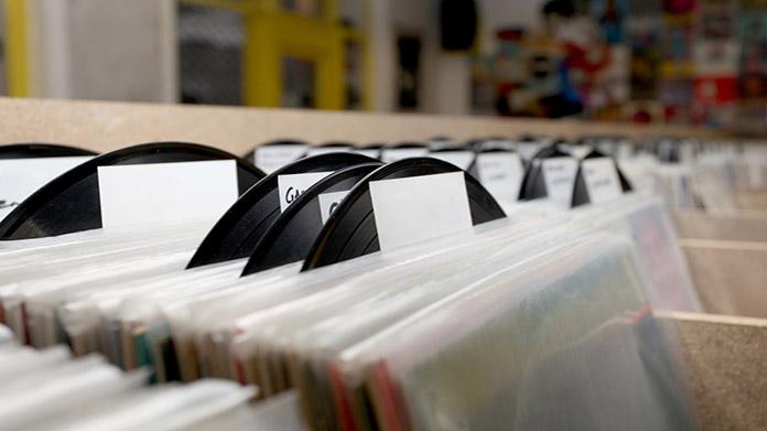 Imagen de la tienda de discos