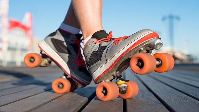 Imagen de la pista de patinaje sobre ruedas