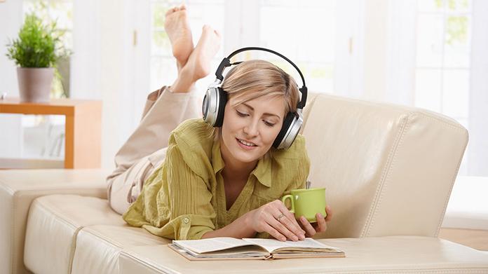 Imagen empresarial de audiolibros