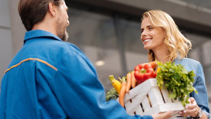 Imagen de empresa de entrega de comestibles