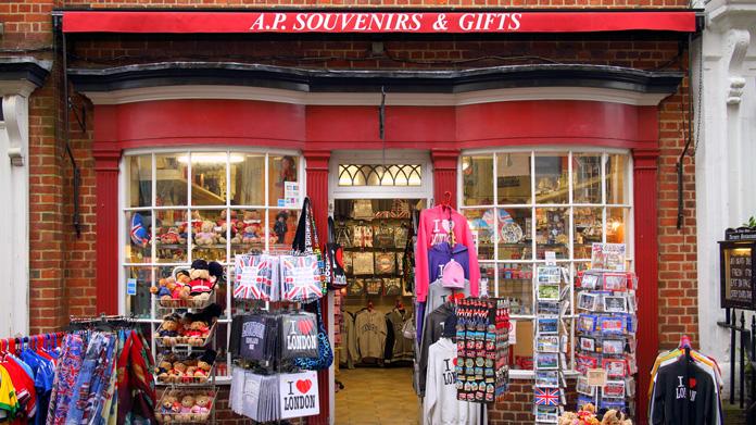 Imagen de la tienda de novedades